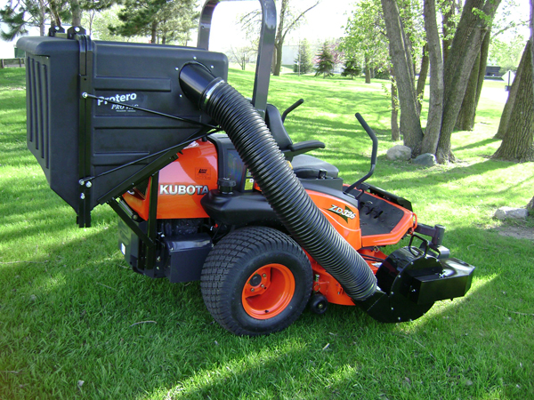 PV18 Dump Catcher – Zero-Turn Mowers